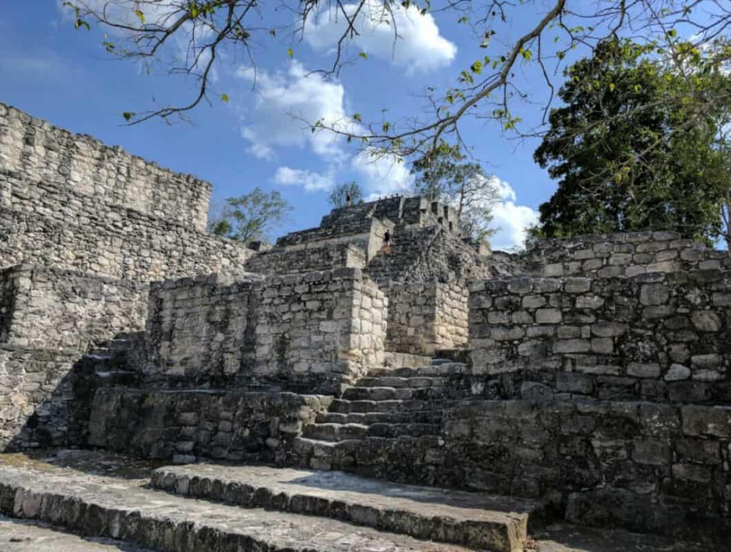 Calakmul Campeche - Estructura XX
