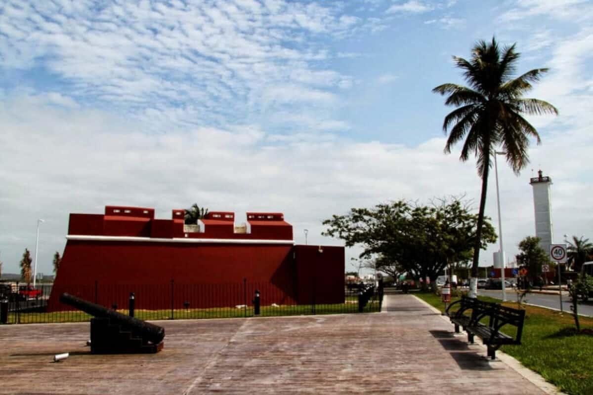 Champotón Campeche - El Baluarte de San Antonio