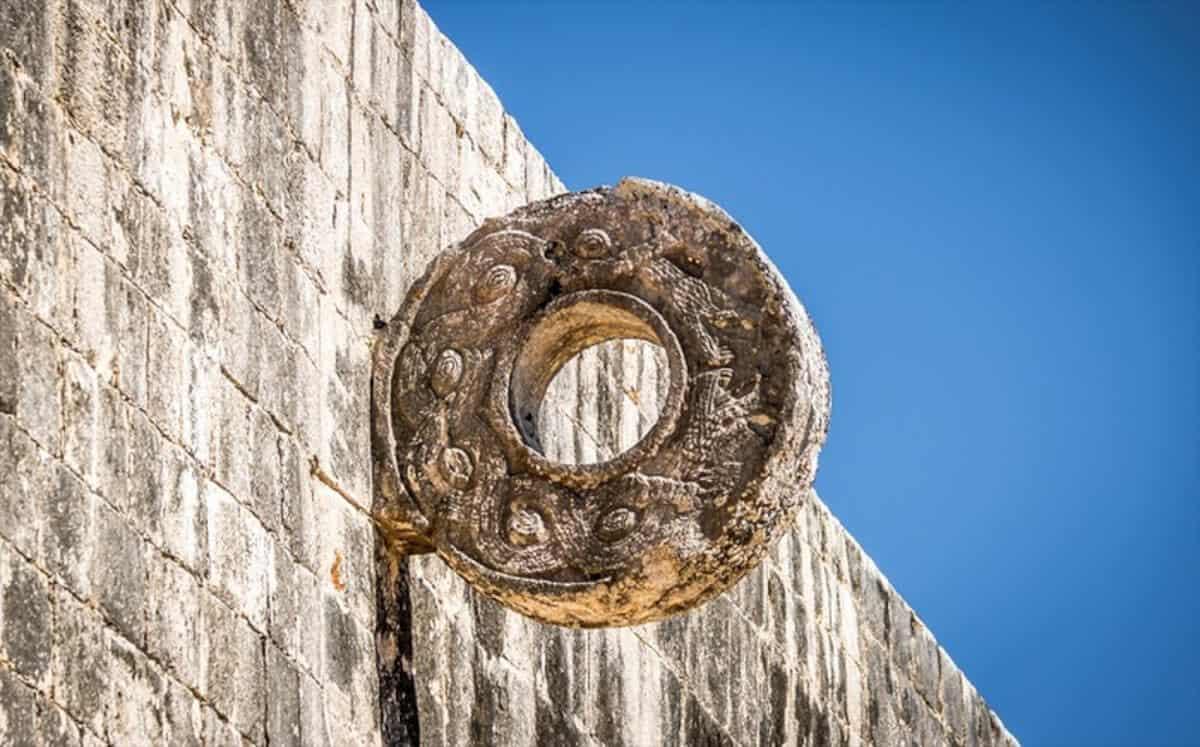 Chichén Itzá Juego de pelota - Detalles de Aro