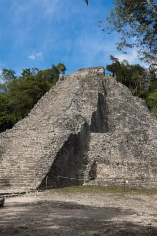 Cobá Quintana Roo - Pirámide Nohoch Mul