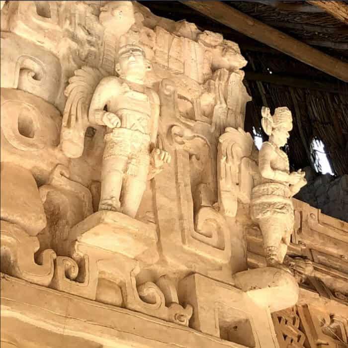 Ek Balam - Detalles arte maya