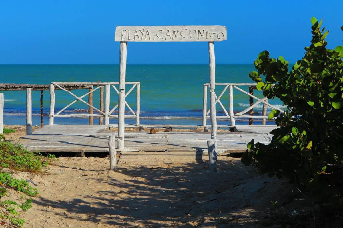 Las Coloradas Yucatán - Playa Cancunito