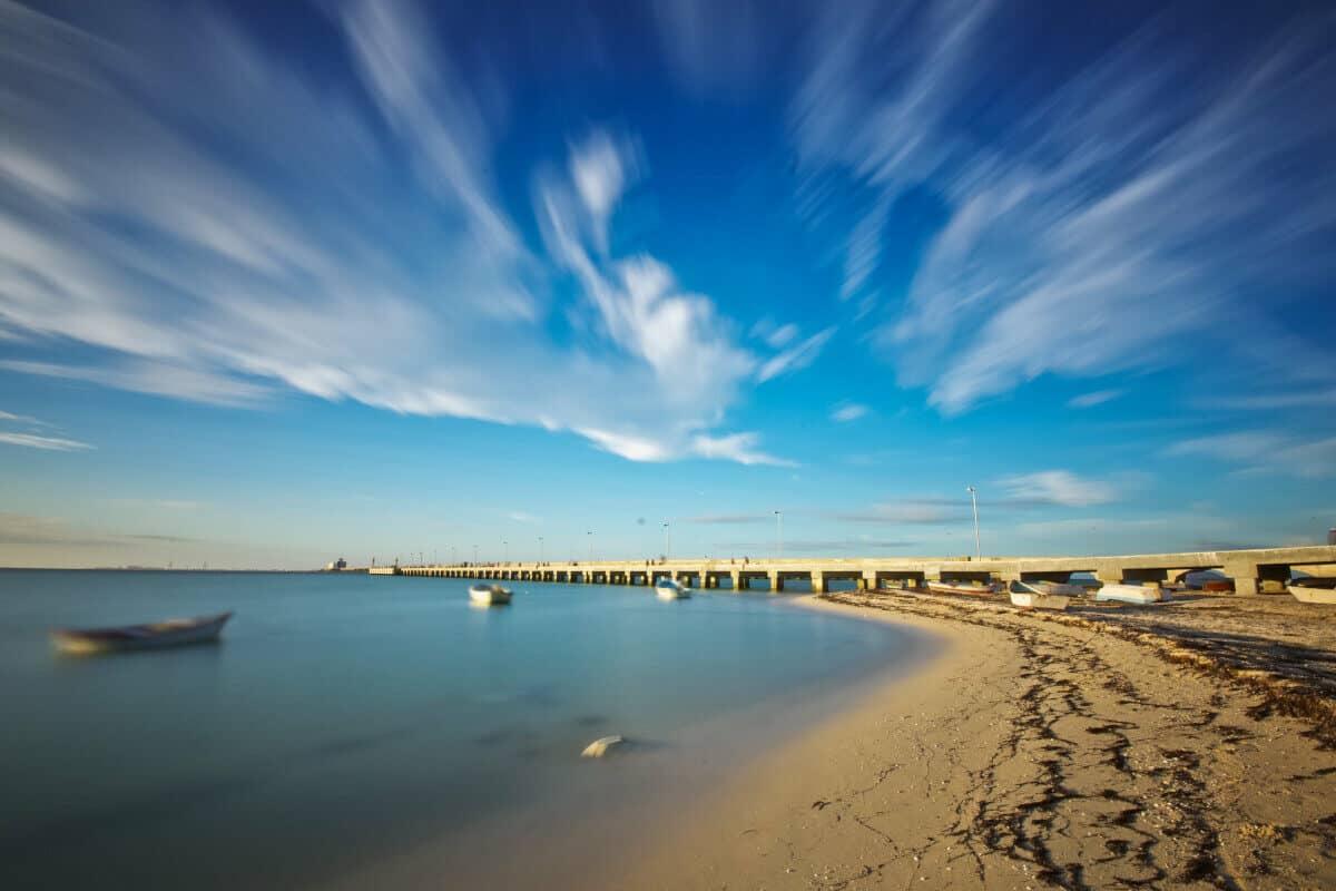 Las mejores Playas de Yucatán - La Playa Puerto Progreso