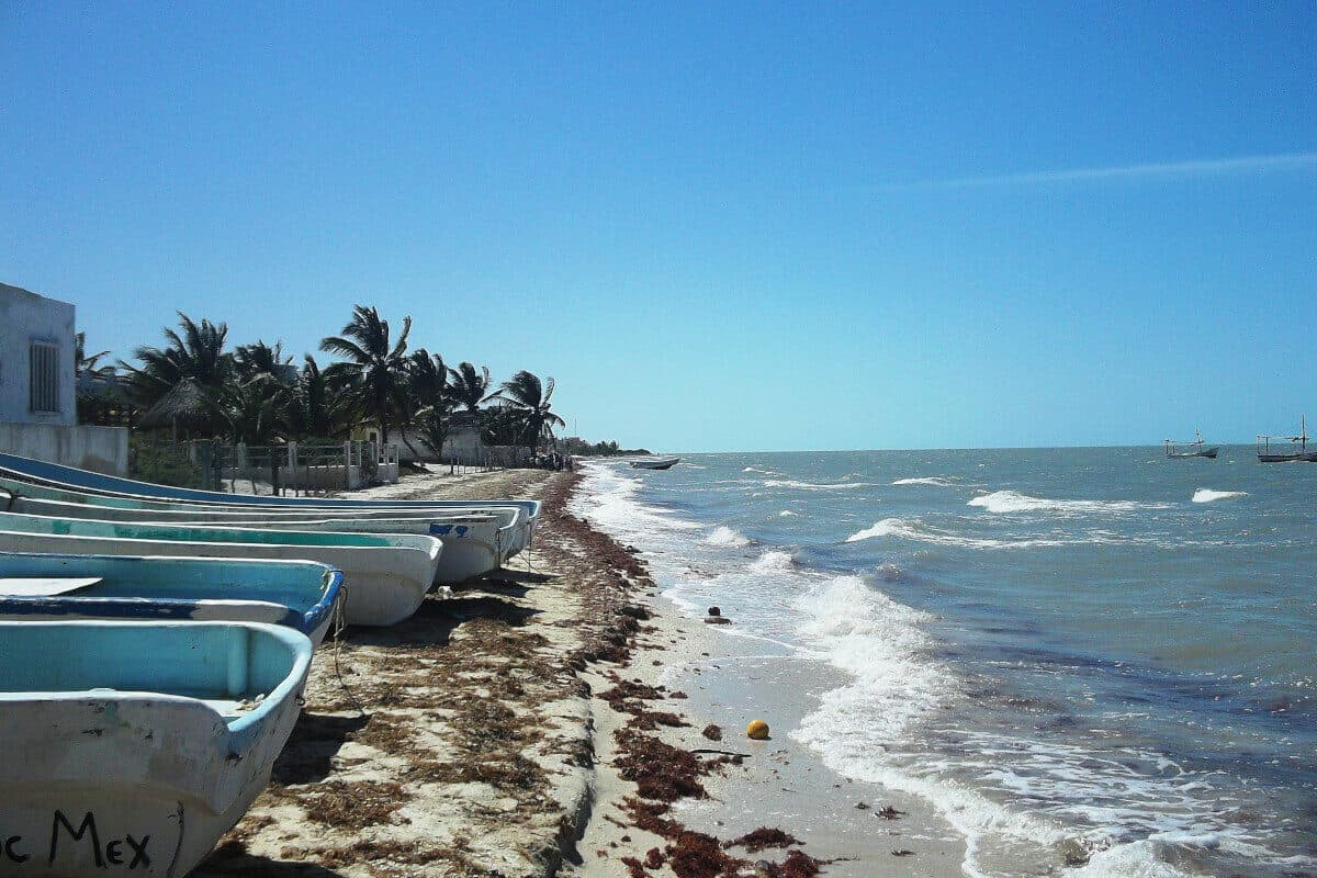 Las mejores Playas de Yucatán - La Playa Santa Clara