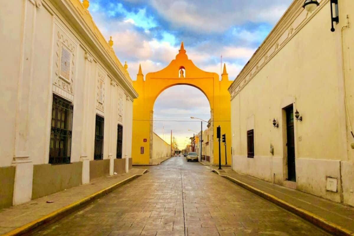 Mérida Yucatán - Arco de Dragones