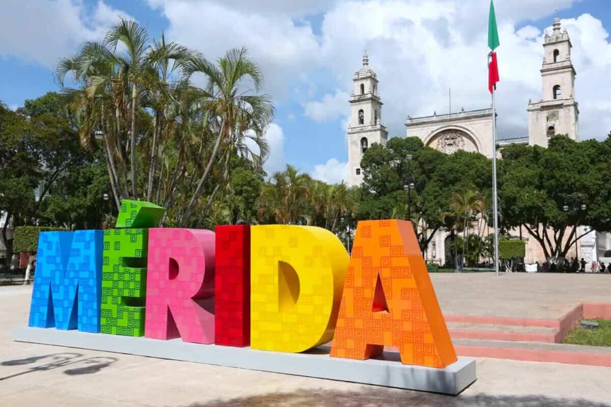 Mérida Yucatán - Letrero de colores