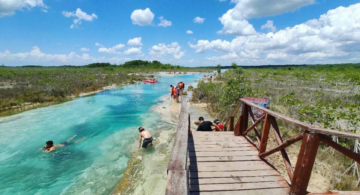 Pueblos Mágicos de Quintana Roo - Rápidos de Bacalar