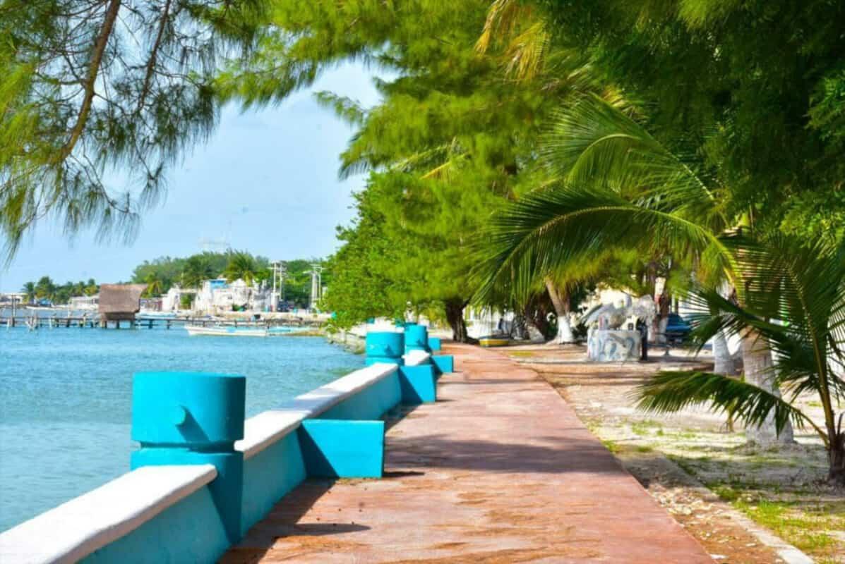 Pueblos mágicos Campeche - Malecón Isla Aguada
