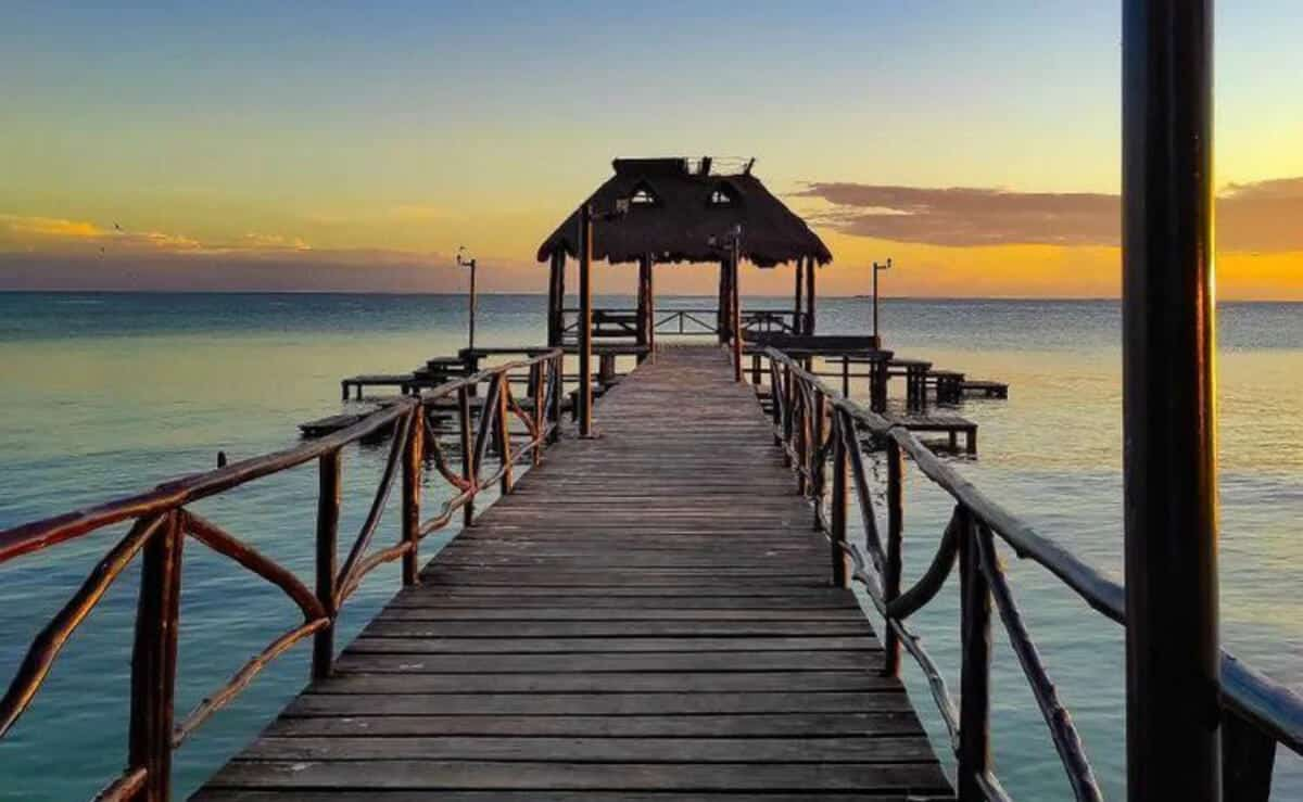 Pueblos mágicos Campeche - Muelle Isla Aguada