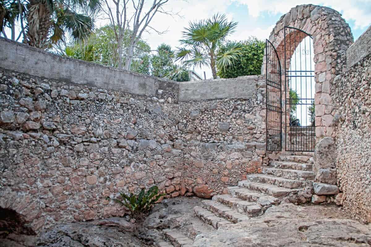 Pueblos mágicos Yucatán - Entrada al cenote
