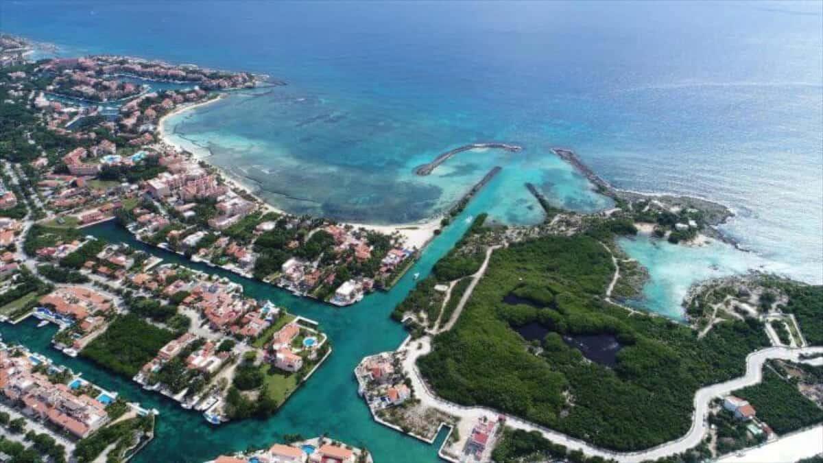 Puerto Aventuras - Vista aérea