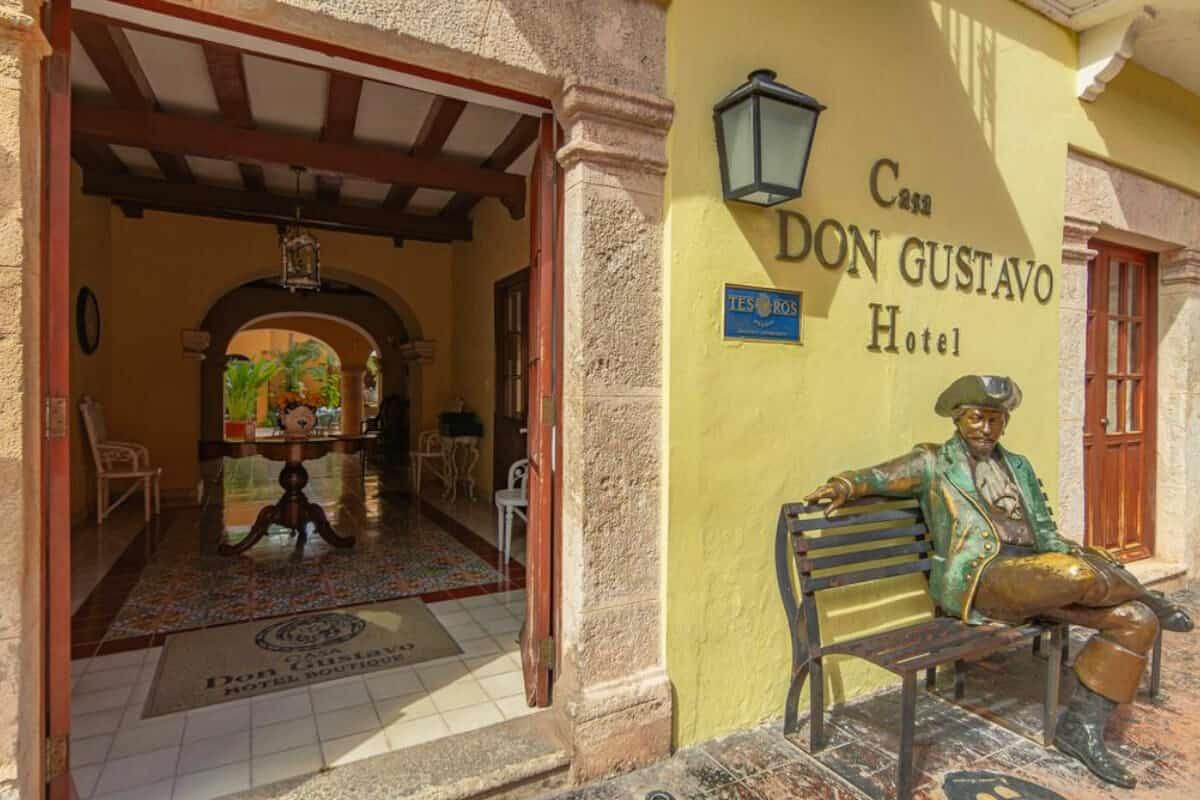 San Francisco de Campeche - Hotel Boutique Casa Don Gustavo