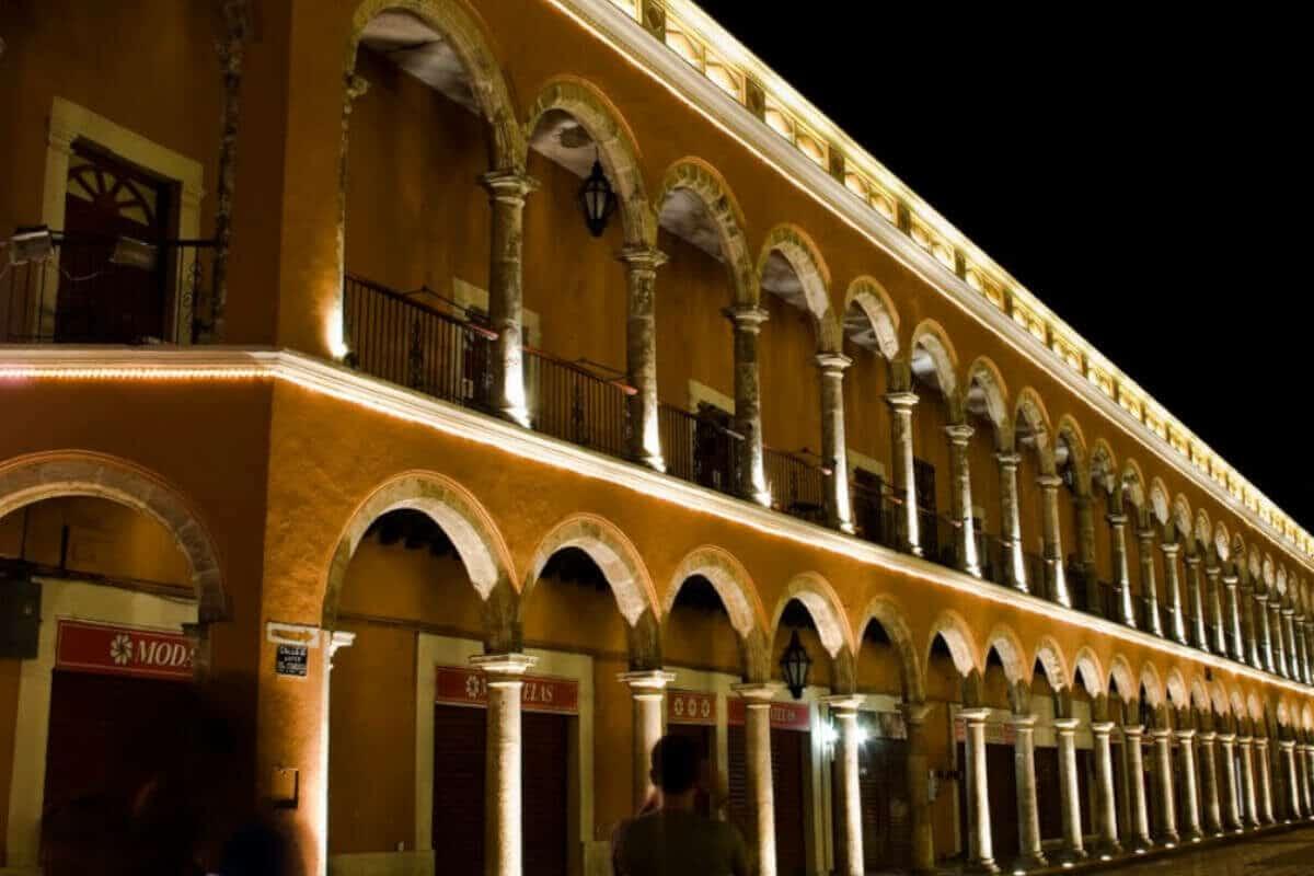 San Francisco de Campeche - La Casa Vieja de Los Arcos