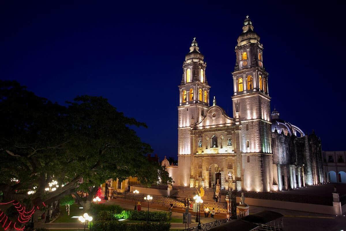 San Francisco de Campeche - La Catedral de Campeche