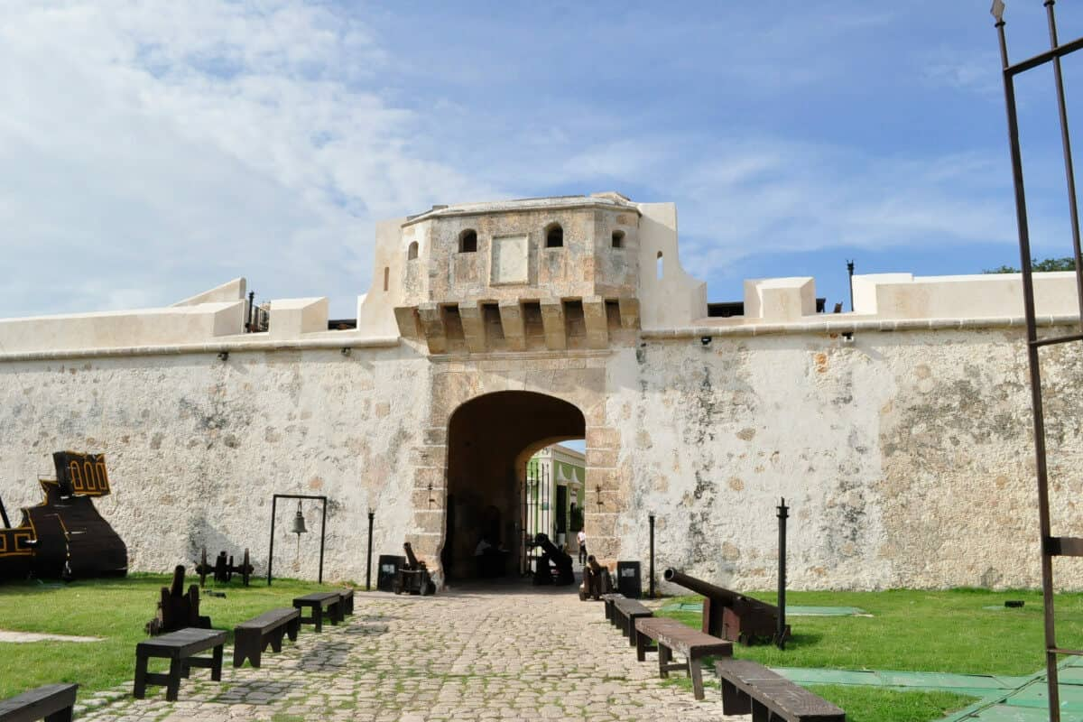 San Francisco de Campeche - La Puerta de la Tierra
