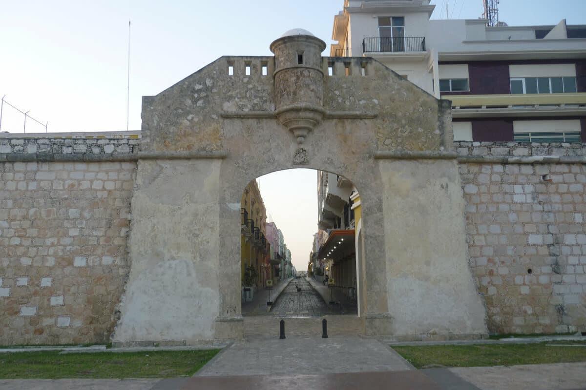 San Francisco de Campeche - La Puerta del Mar
