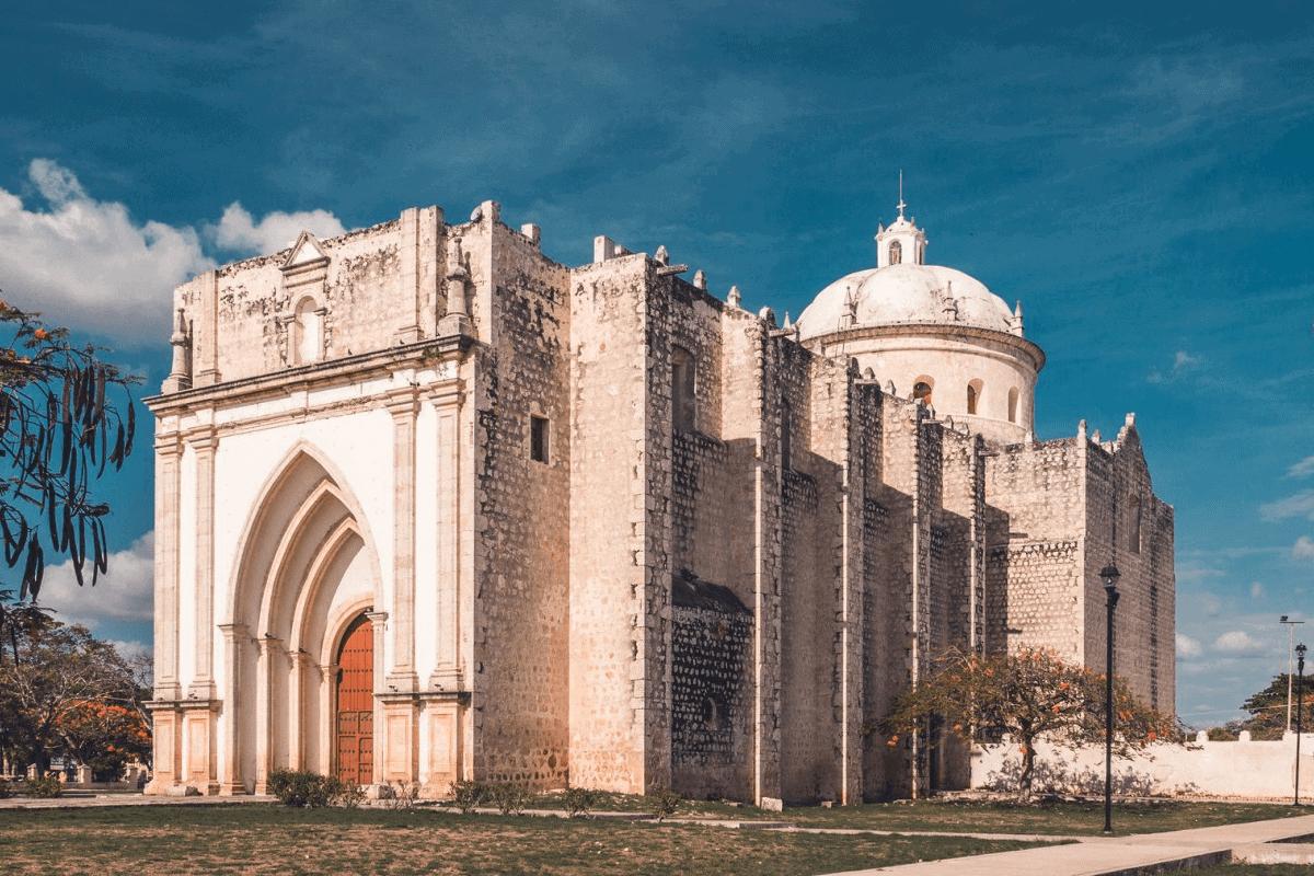 Umán Yucatán - Ex- convento y parroquia de San Francisco de Asís