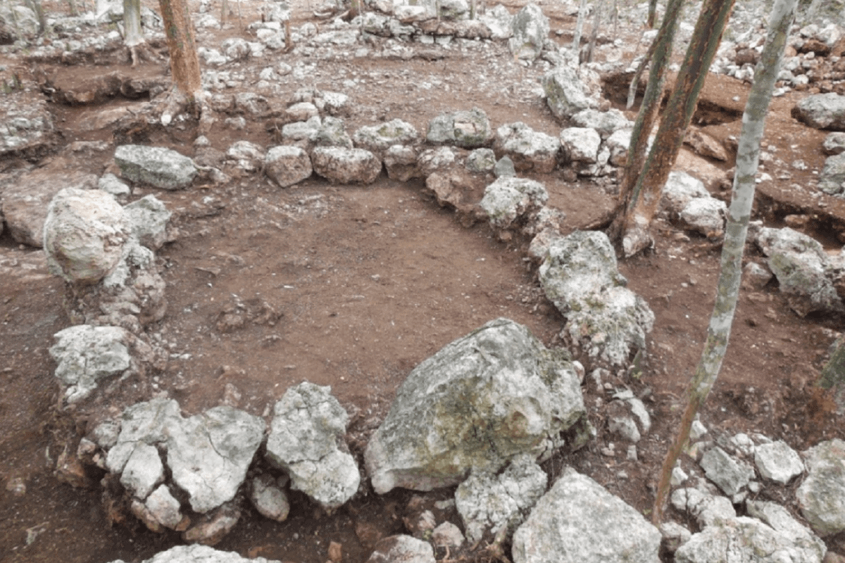 Umán Yucatán - Zonas arqueológicas