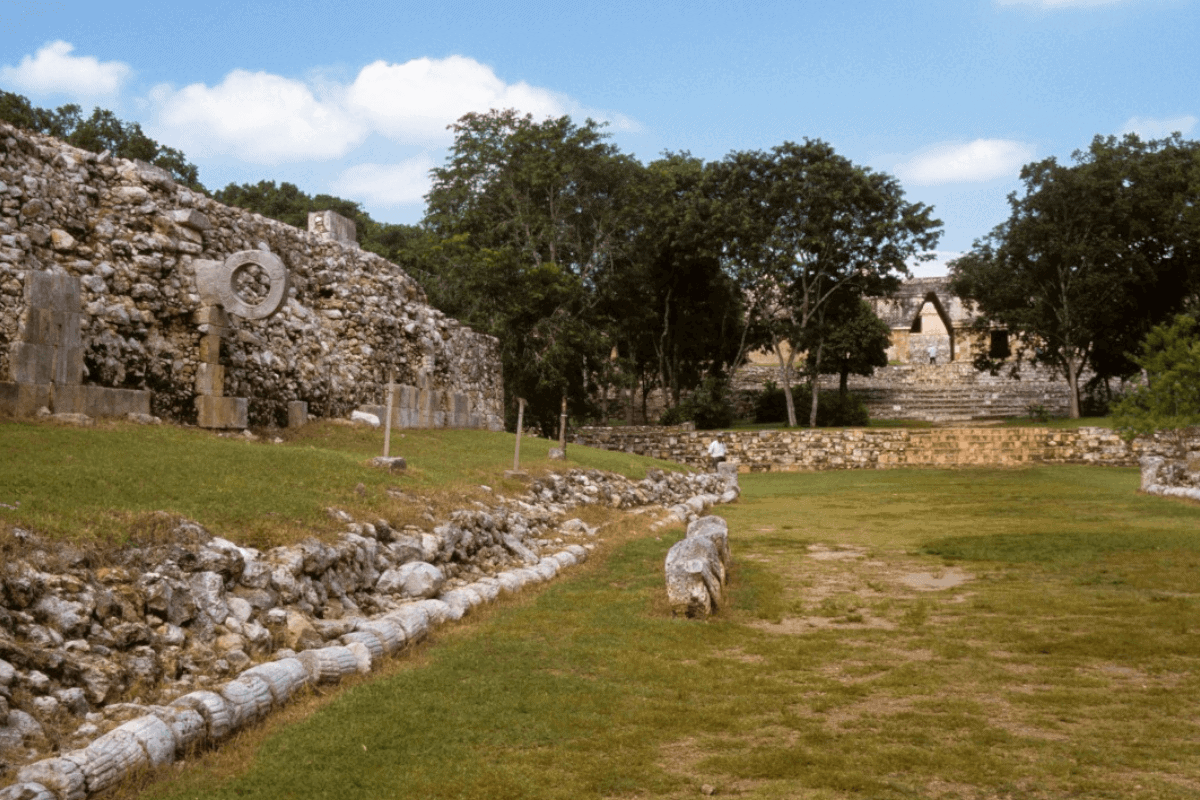 Uxmal Yucatán - El Juego de Pelotas