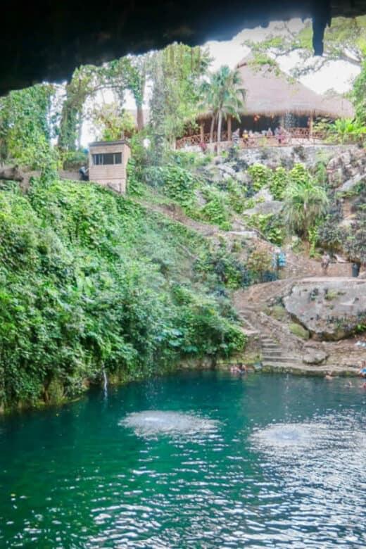 Cenote Zací - Conociendo el cenote Zací