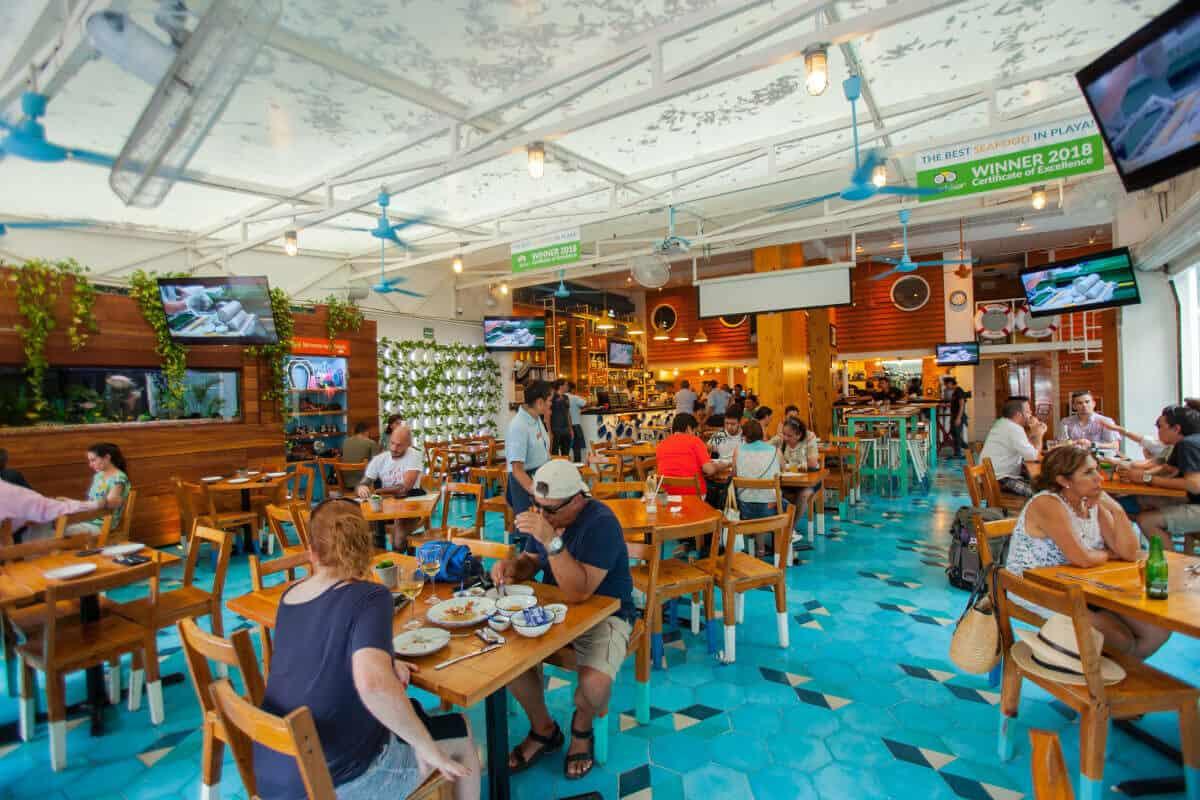 Mejores Restaurantes Playa del Carmen - Restaurante La Fishería