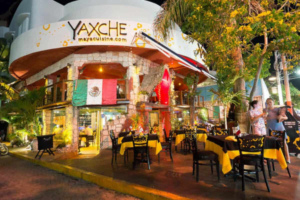 Mejores Restaurantes Playa del Carmen - Restaurante Yaxche