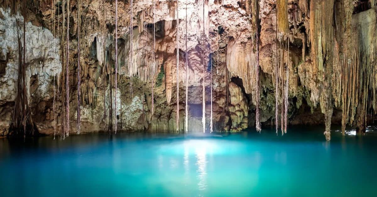 Qué es un cenote - Cenote Chaak tun