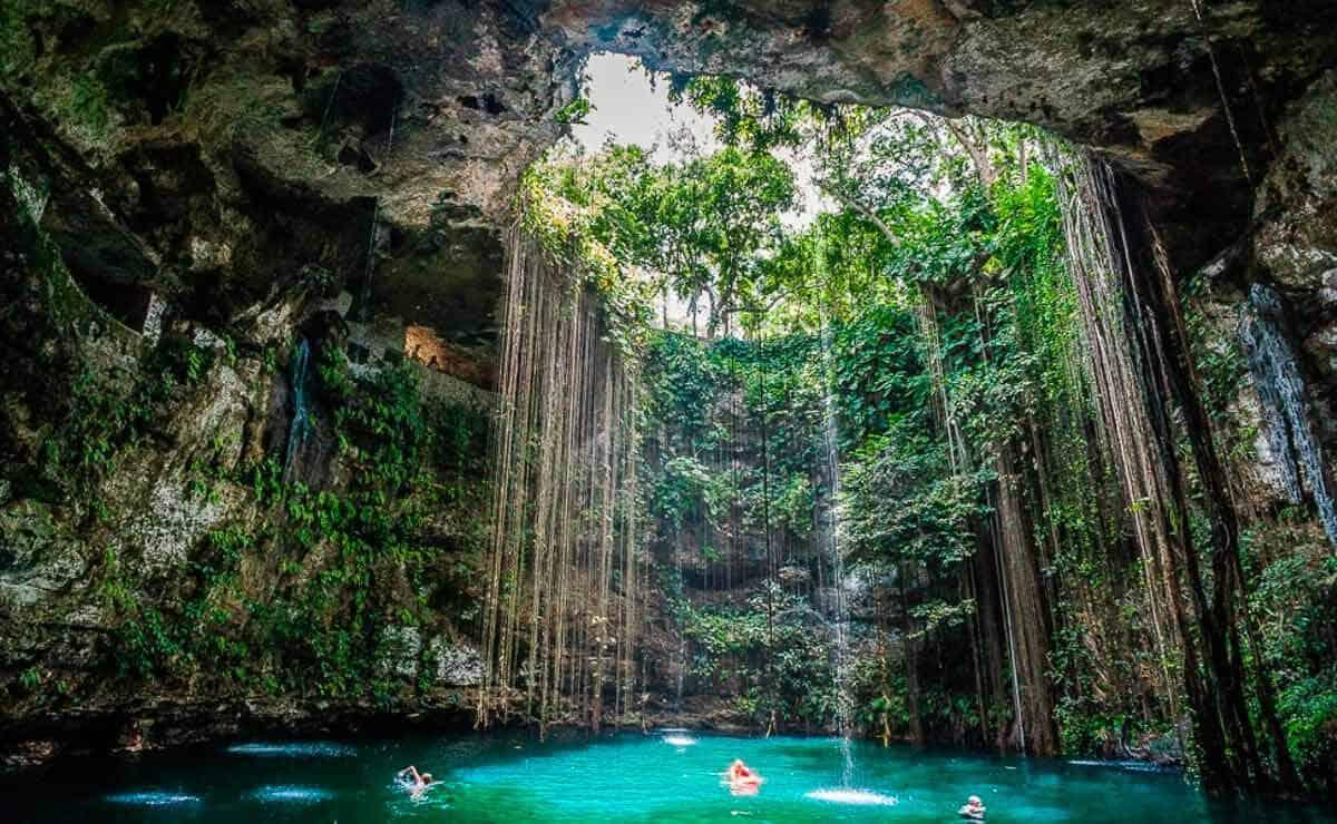 Qué es un cenote - Cenote Ik Kil