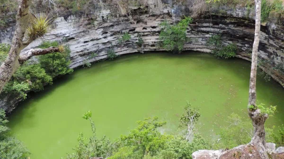 Qué es un cenote - Cenote Sagrado
