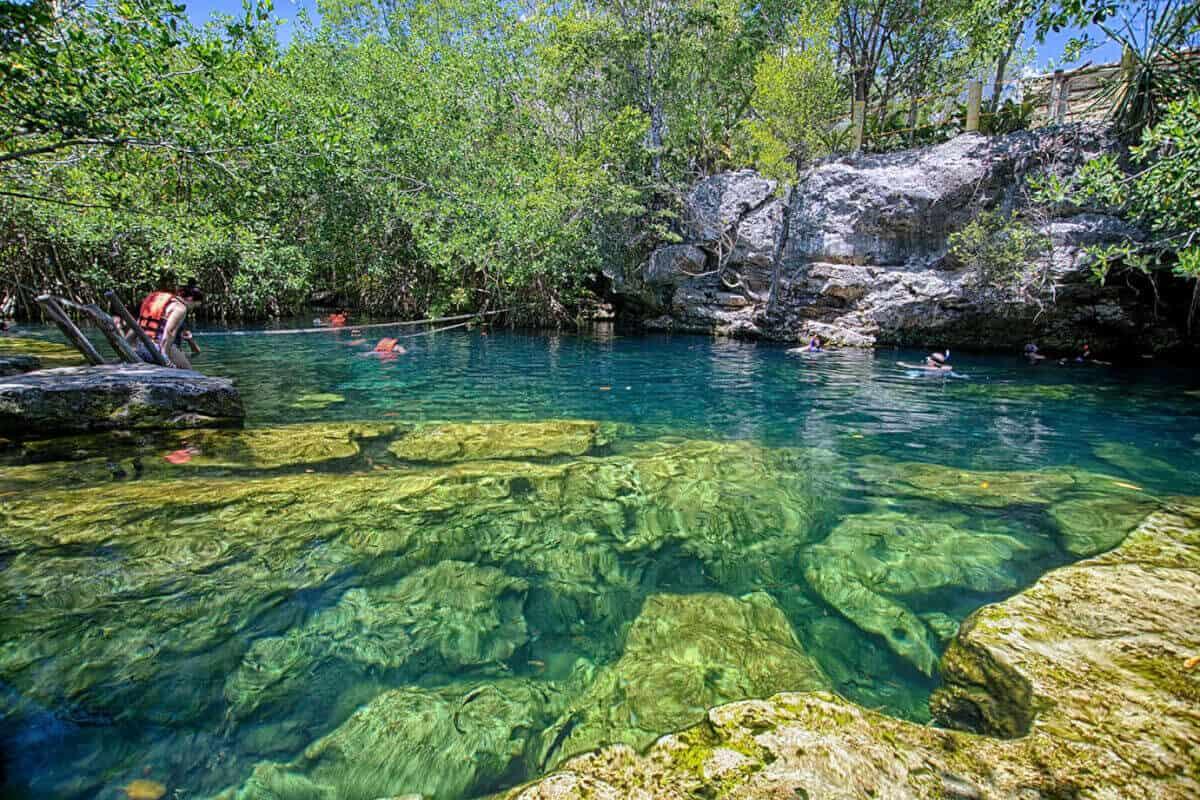 Qué es un cenote - Cenote abierto