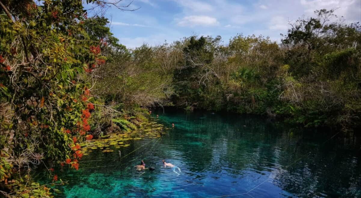 Qué es un cenote - Centro ritualístico maya