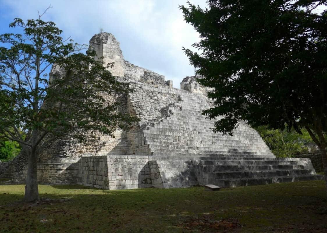 Zonas arqueológicas de Campeche - Balamkú