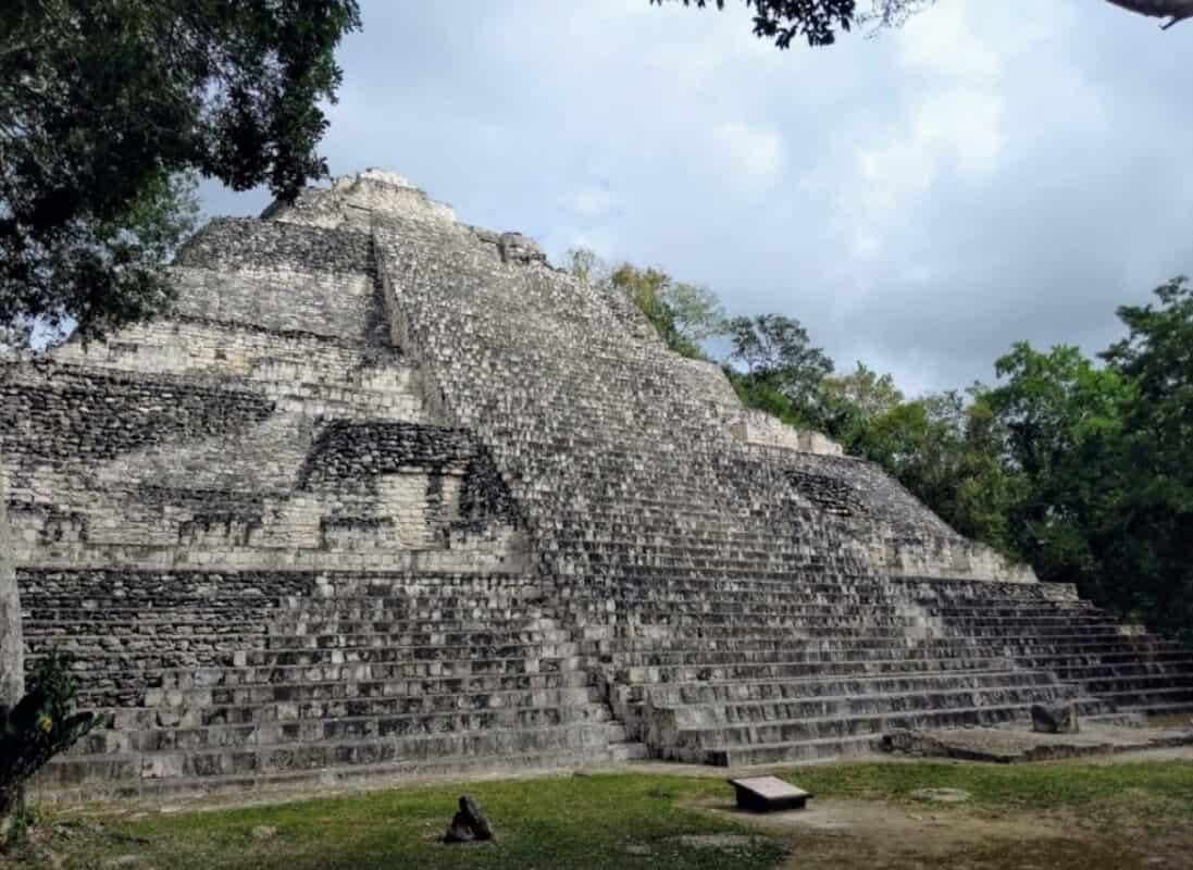 Zonas arqueológicas de Campeche - Becán