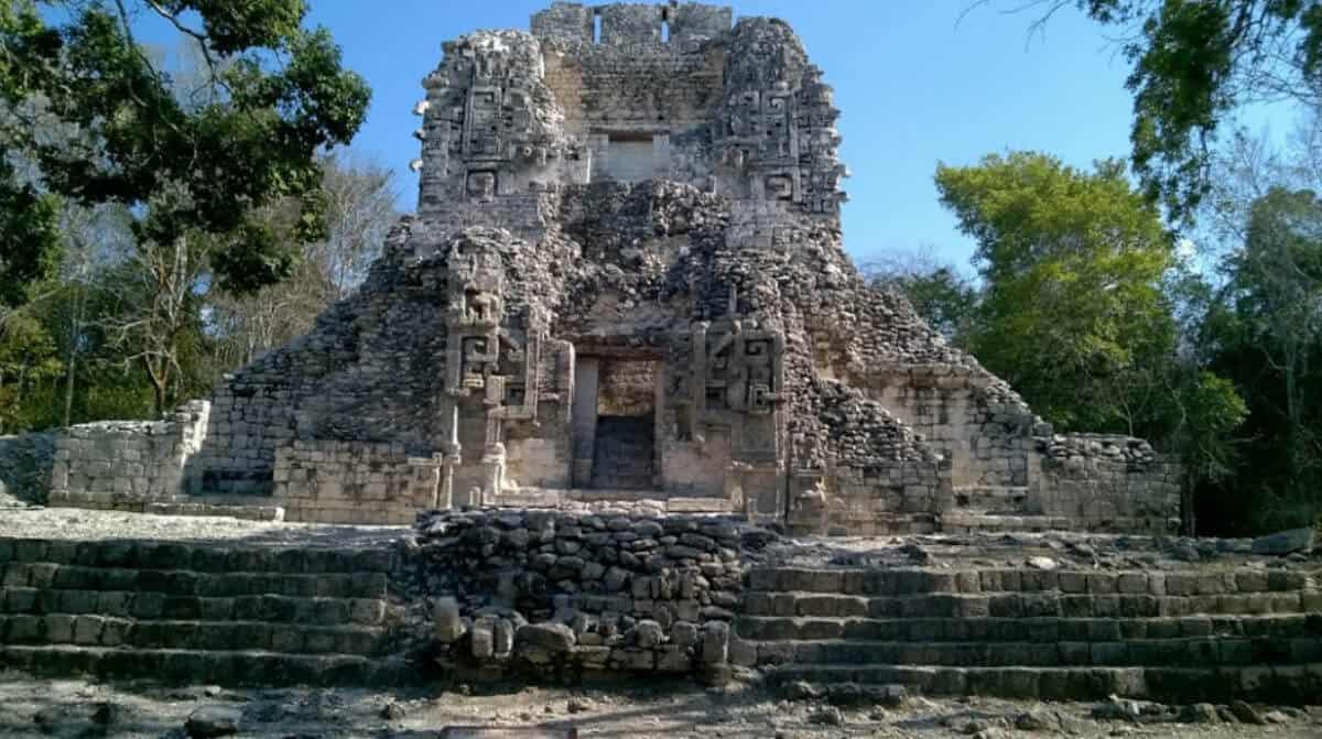 Zonas arqueológicas de Campeche - Chicanná
