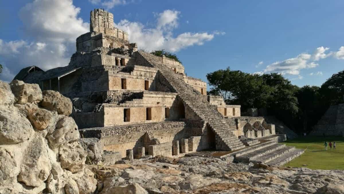 Zonas arqueológicas de Campeche - Edzná