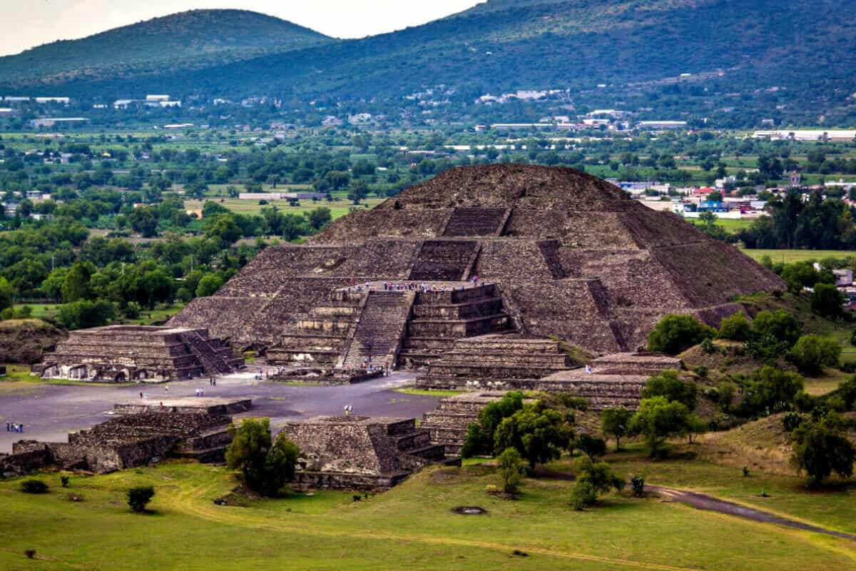 Zonas arqueológicas de México - Zona arqueológica Teotihuacán, Estado de México
