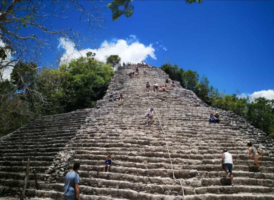 Zonas arqueológicas de Quintana Roo - Cobá