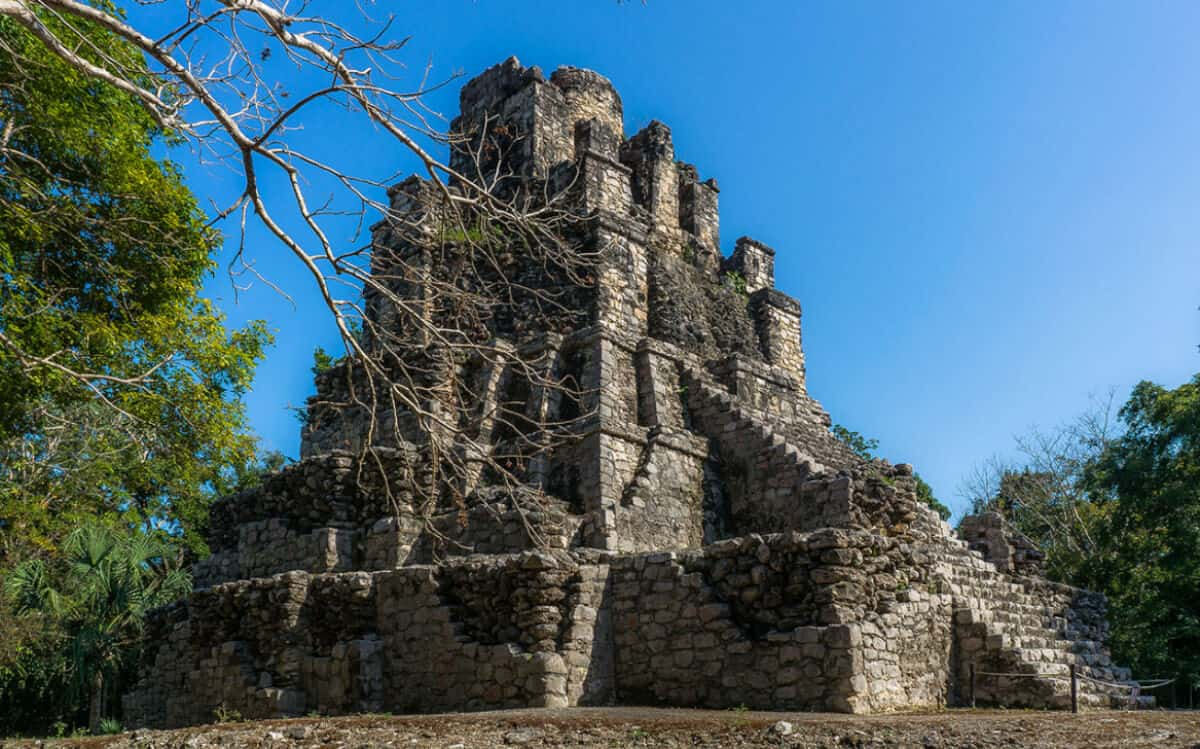 Zonas arqueológicas de Quintana Roo - Muyil