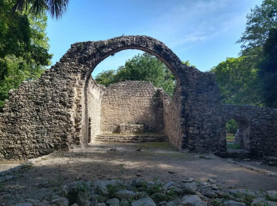 Zonas arqueológicas de Quintana Roo - Oxtankah