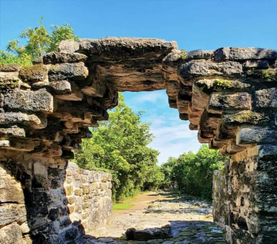 Zonas arqueológicas de Quintana Roo - San Gervasio