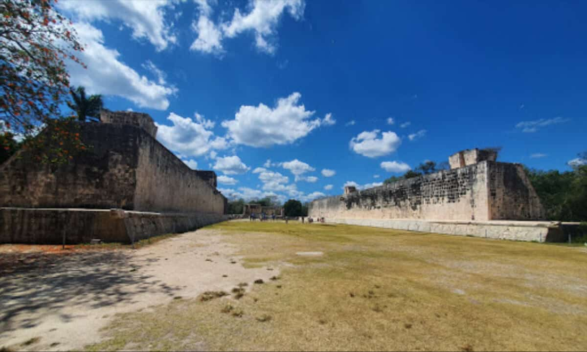 Zonas arqueológicas de Yucatán - Chichén Itzá Juego de Pelota