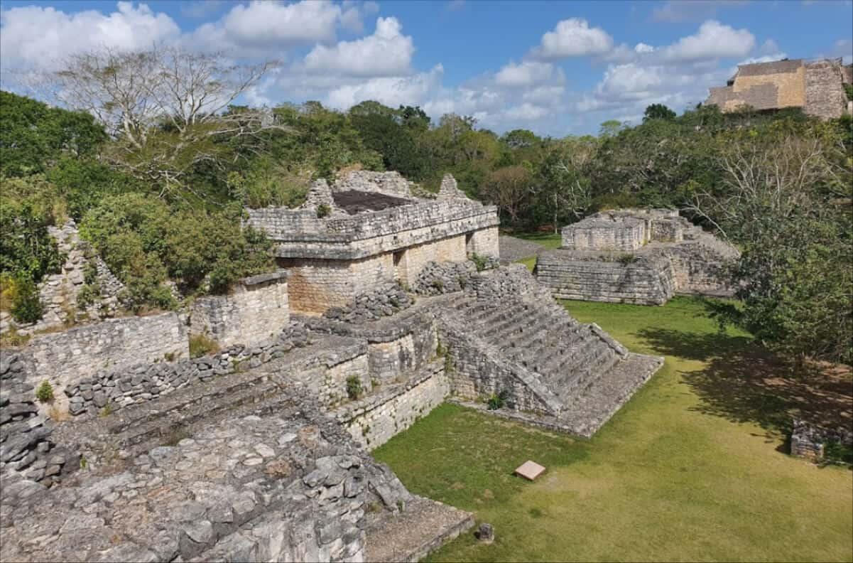 Zonas arqueológicas de Yucatán - Ek Balam pirámides gemelas