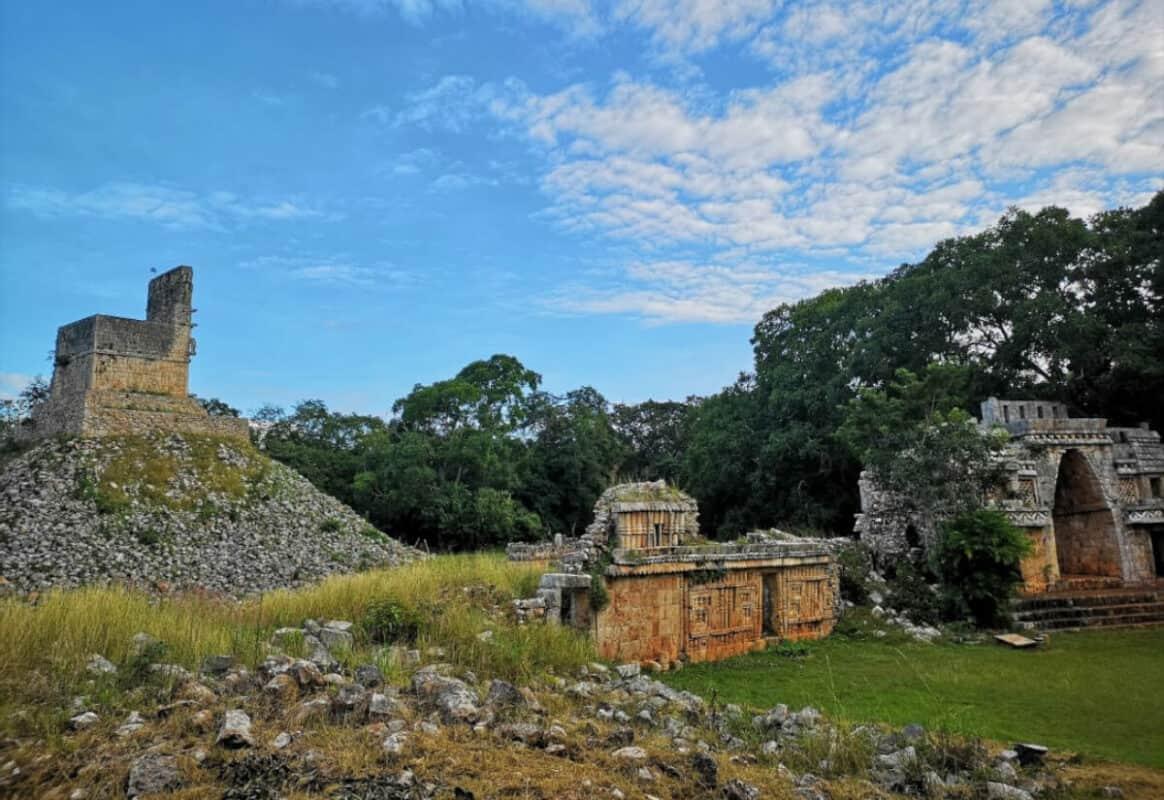 Zonas arqueológicas de Yucatán - Labná sitio