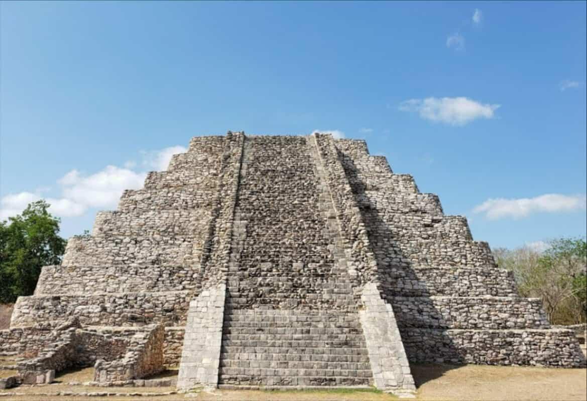 Zonas arqueológicas de Yucatán - Mayapán Castillo de Kukulkán