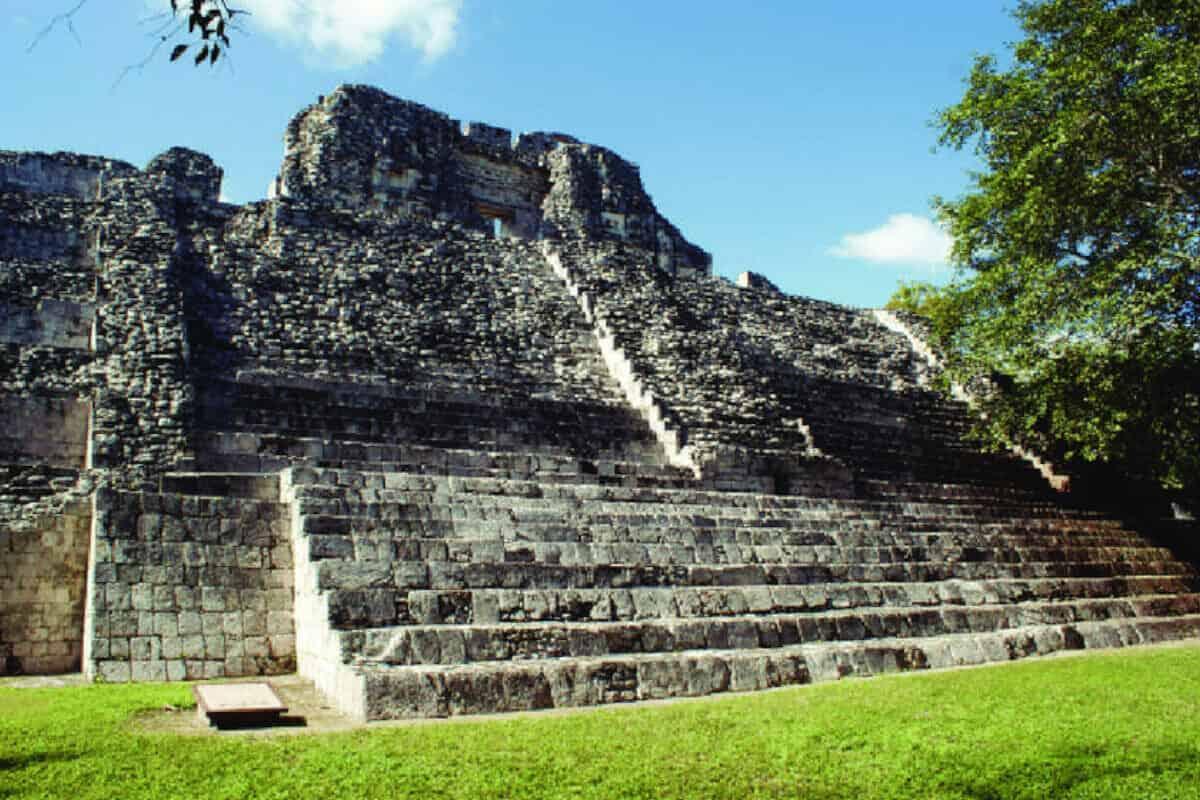 Becan Campeche - Cómo acceder a las estructuras de Becan Campeche