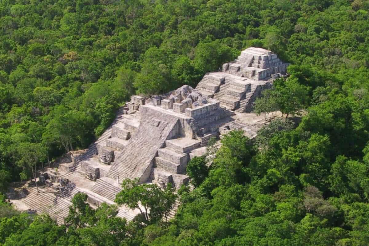 Becan Campeche - Un poco de historia de Becan Campeche