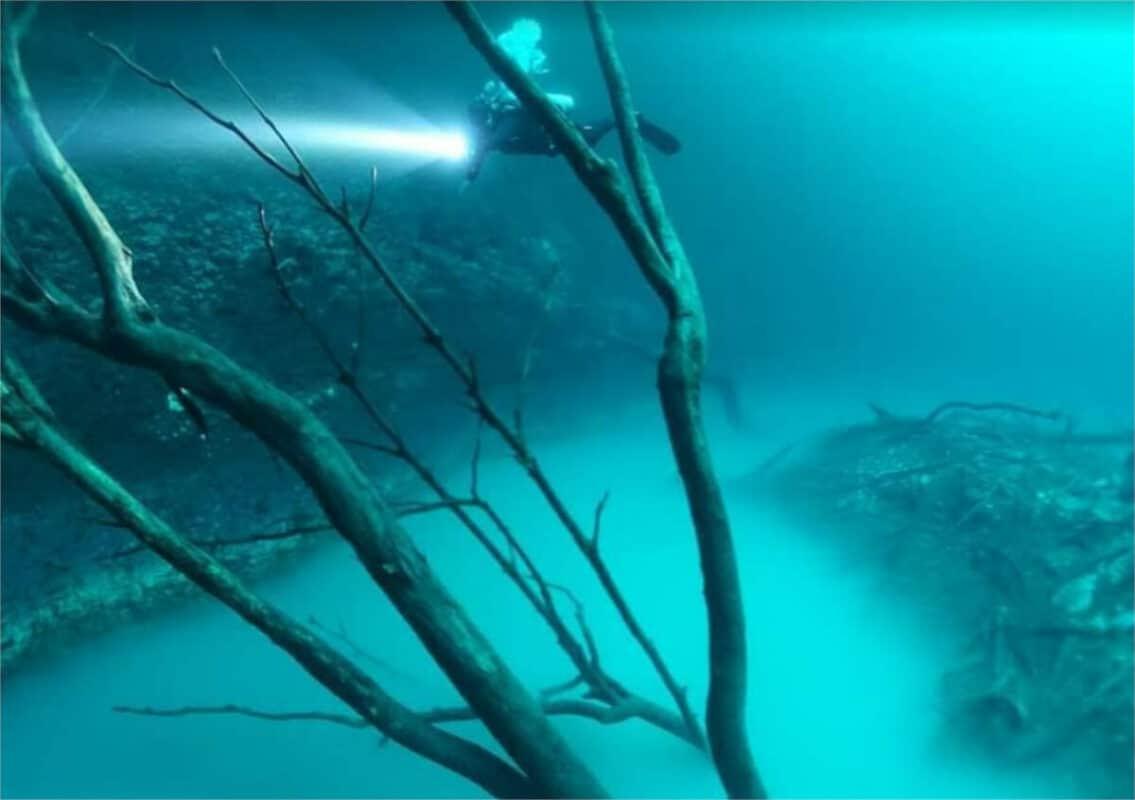 Cenote Angelita - Haloclina