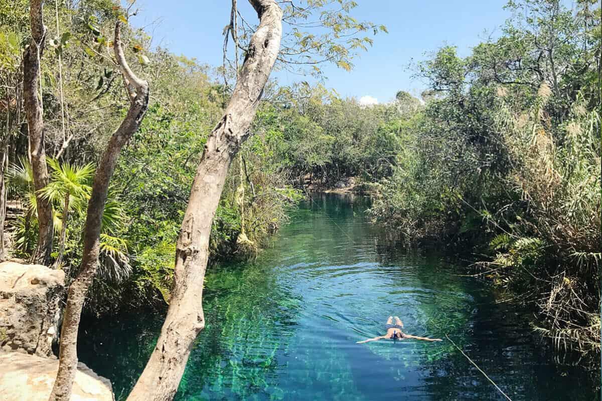 Cenote Escondido - Recomendaciones para disfrutar del Cenote Escondido