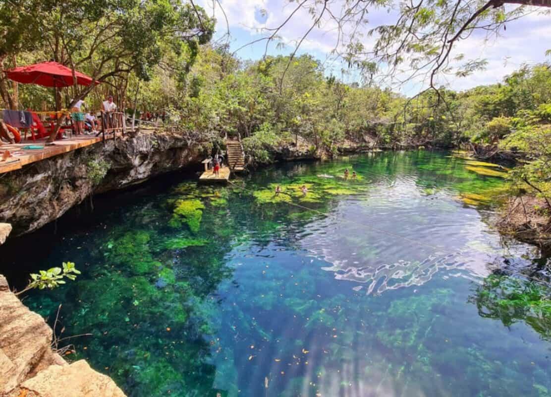 Cenote Jardín del Edén - Piscina natural