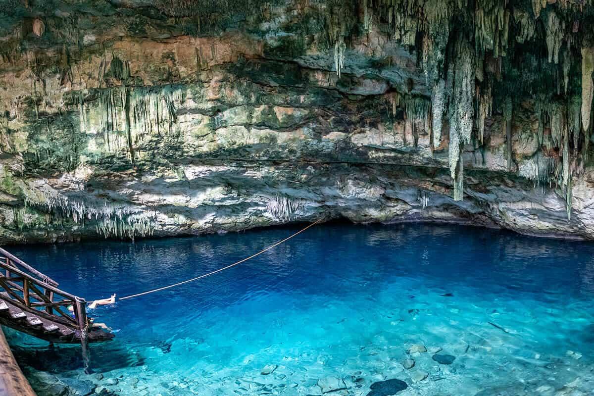 Cenote Santa Bárbara - El Cenote Chaksikín